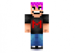 Markiplier-pink-hair-skin