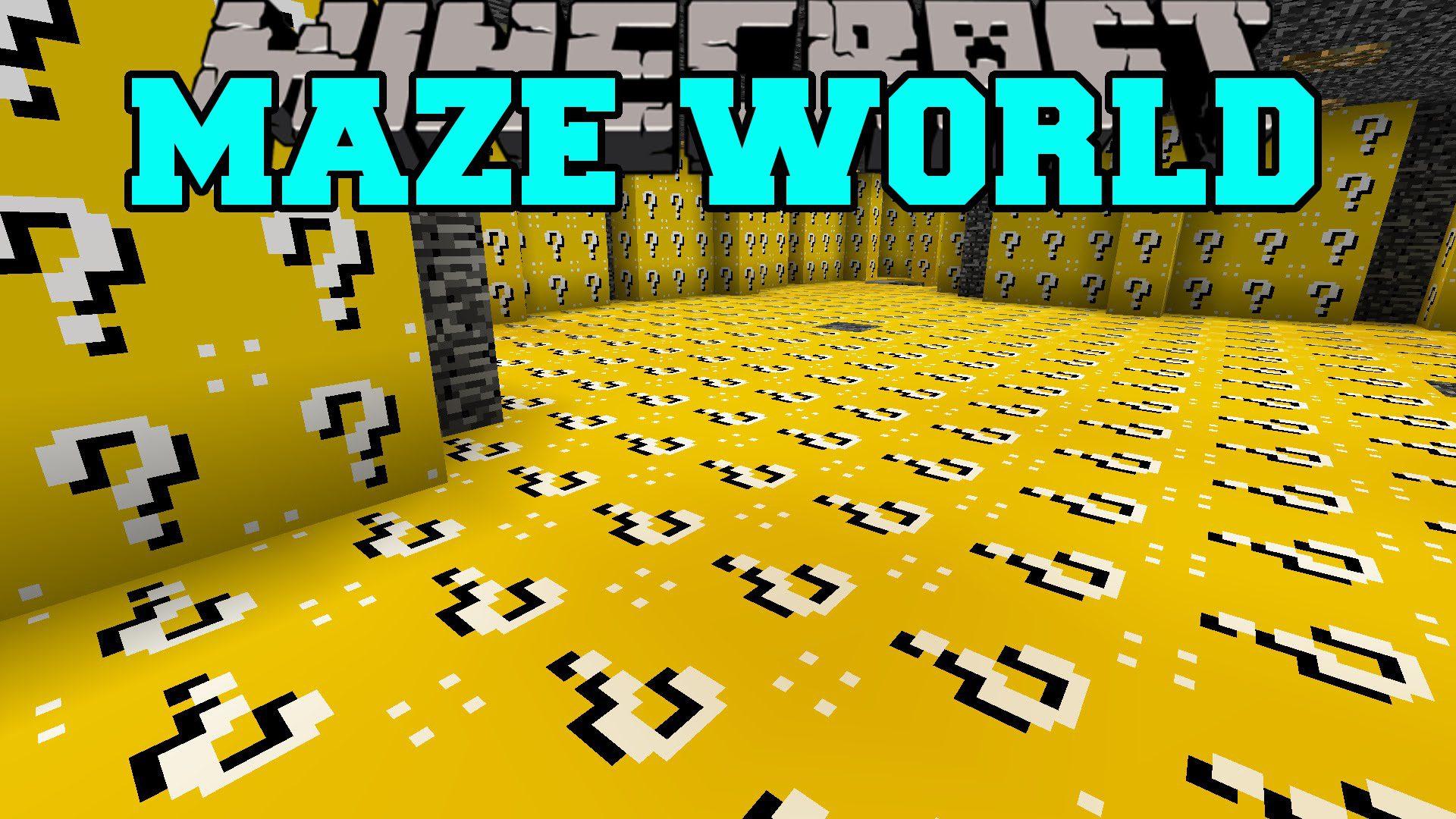 Maze World Mod