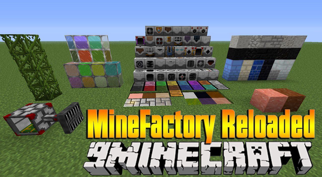 MineFactory Reloaded Mod