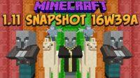 Minecraft 1.11 Snapshot 16w39a