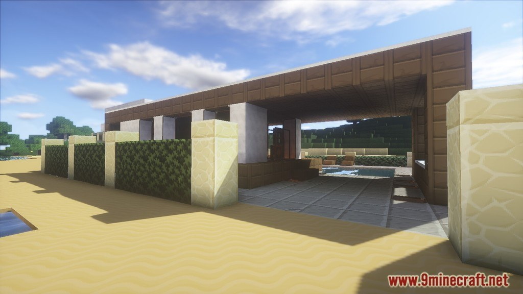 Minecraft Modern House Map Screenshots 6