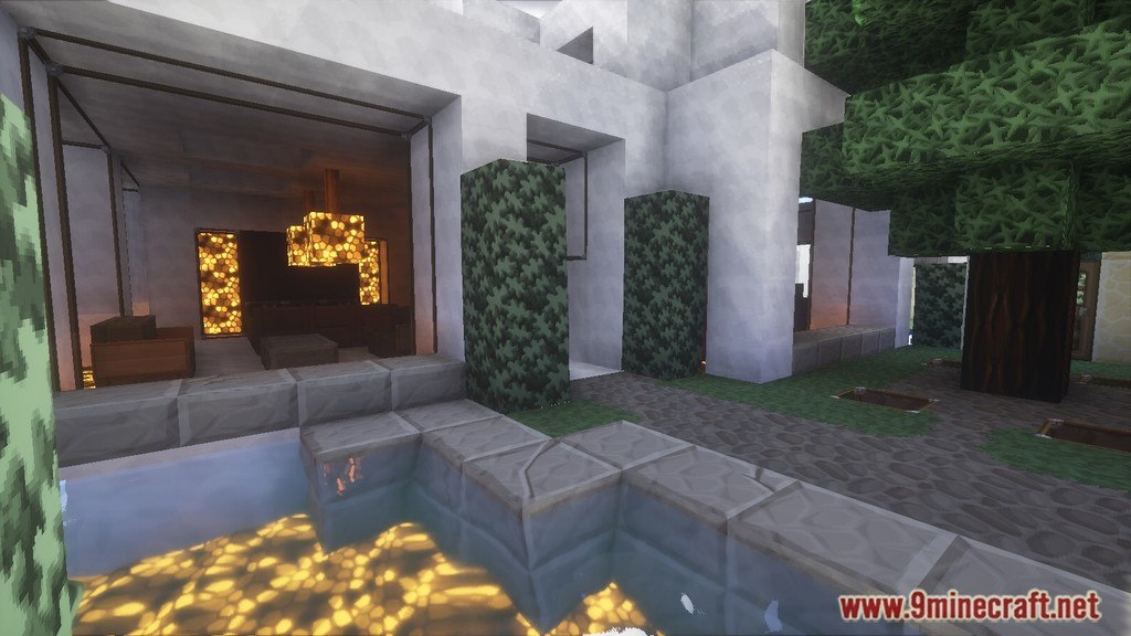 Minecraft Modern House Map Screenshots 7