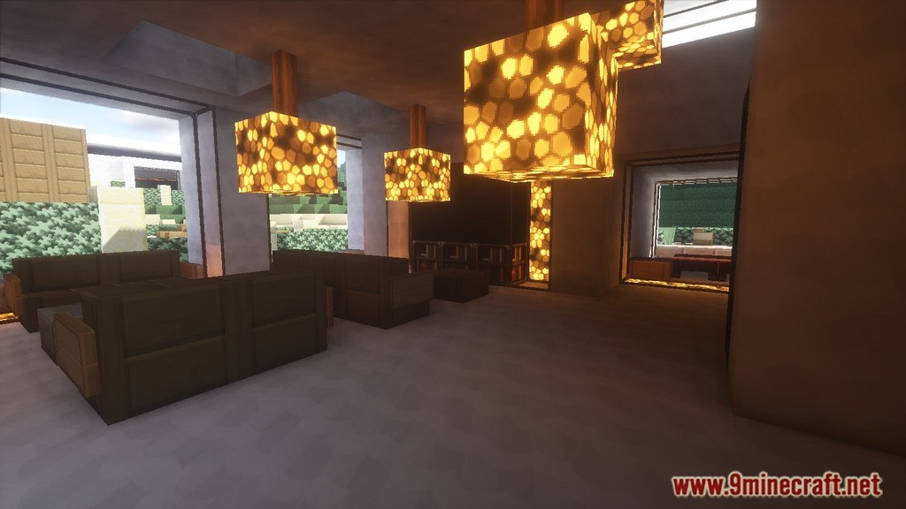 Minecraft Modern House Map Screenshots 8