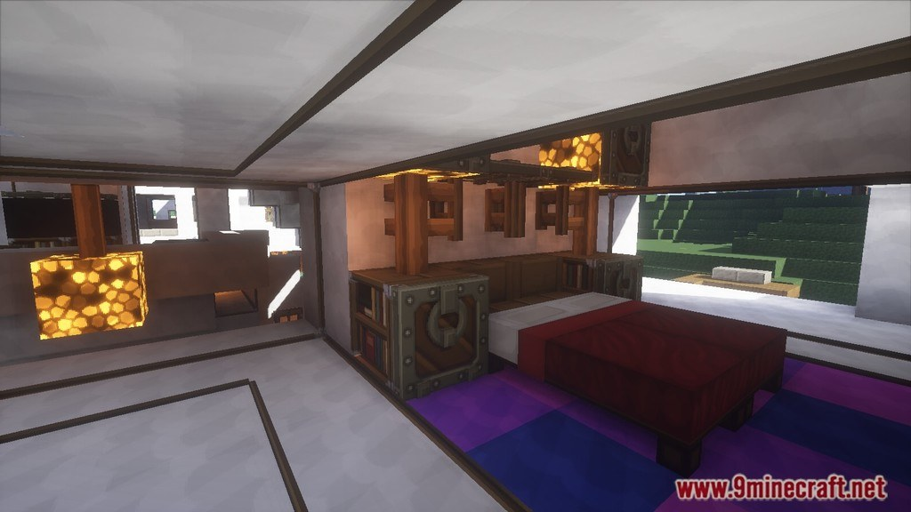 Minecraft Modern House Map Screenshots 9
