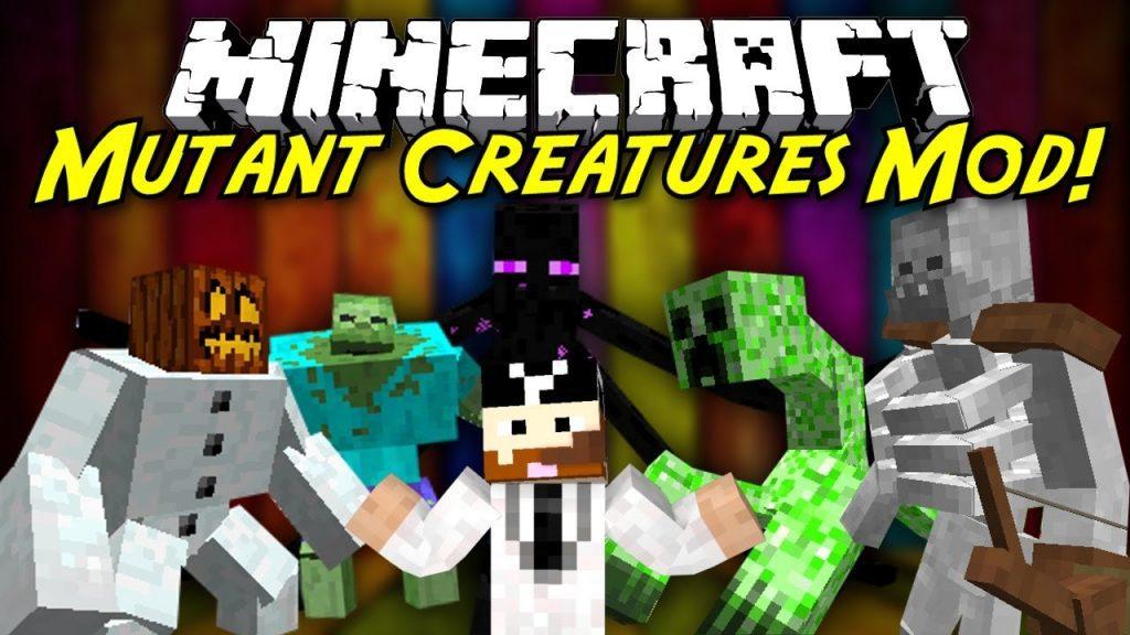 Mutant Creatures Mod 1 7 10 Giant Monsters 9minecraft Net