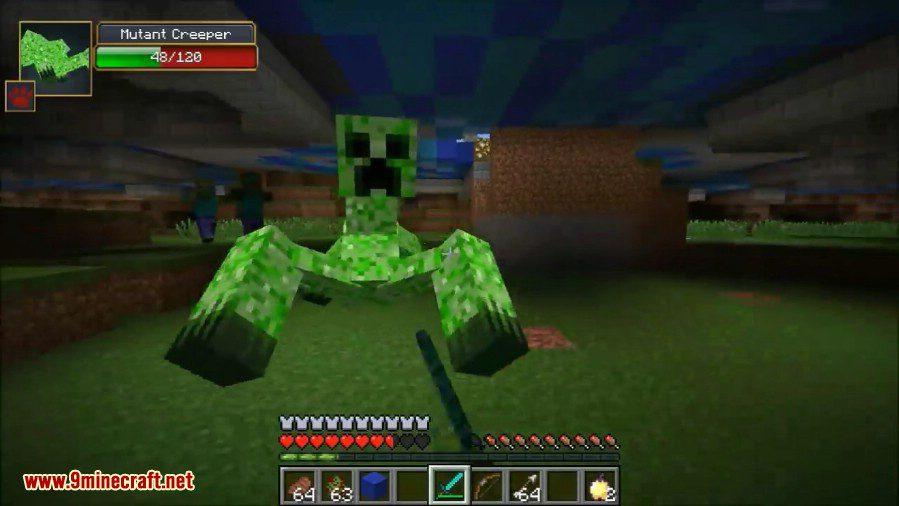 Mutant Creatures Mod 5