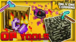 Overpowered Tools Command Block