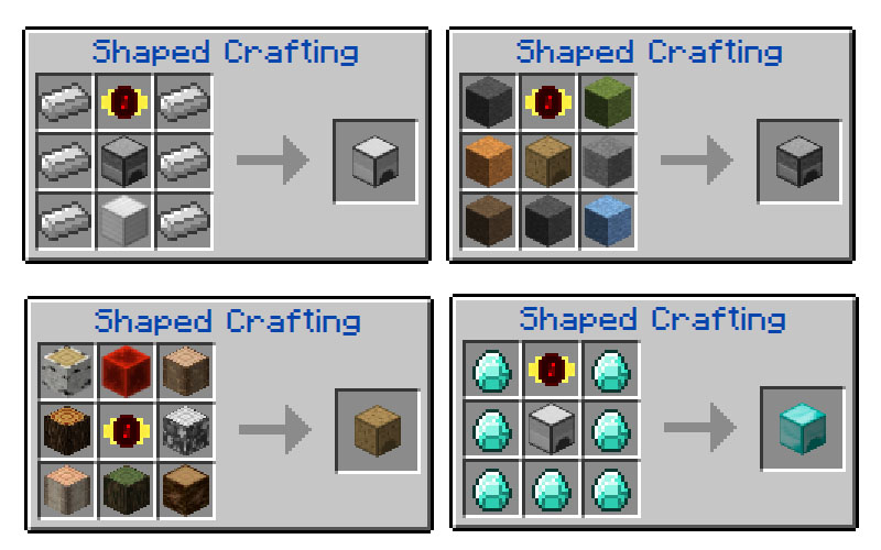 Progressive Automation Mod Crafting Recipes 5