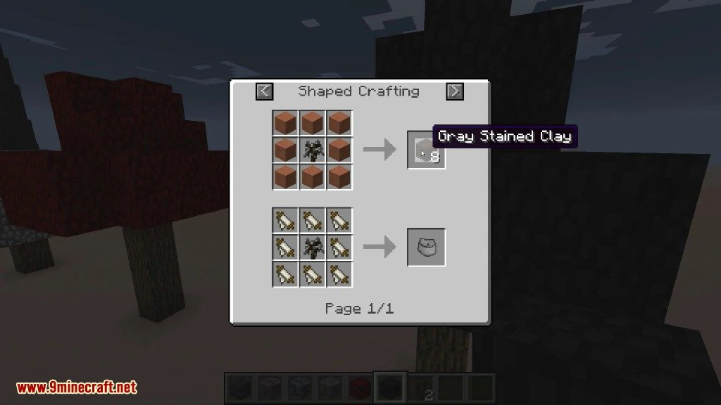 Project Red Mod Crafting Recipes 1
