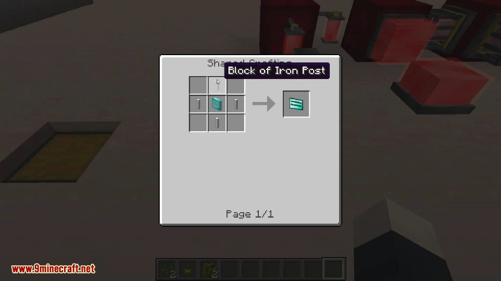 Project Red Mod Crafting Recipes 4