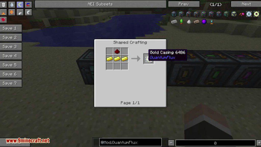 QuantumFlux Mod Crafting Recipes 4