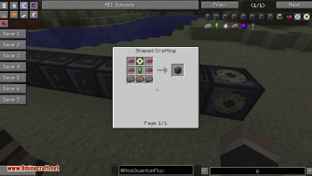 QuantumFlux Mod Crafting Recipes 7