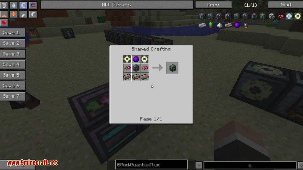 QuantumFlux Mod Crafting Recipes 8