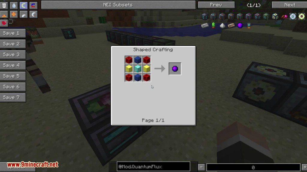 QuantumFlux Mod Crafting Recipes 9