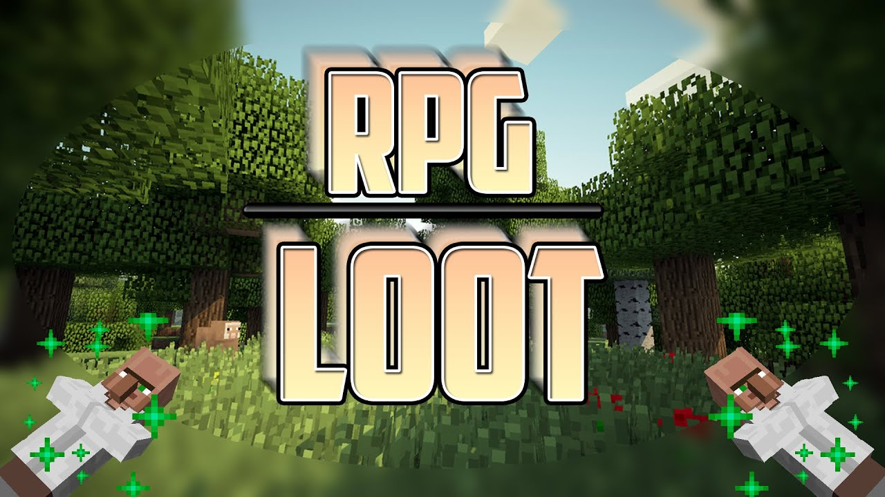 RPGLoot Mod 1.12.2/1.7.10 (RPG-like Looting)