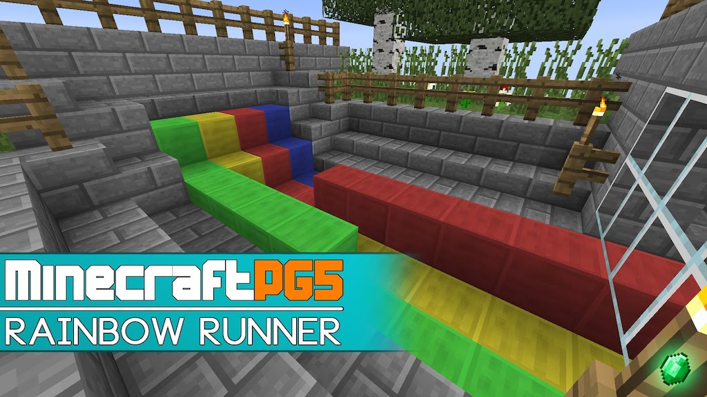 Rainbow Runner Mini Map Thumbnail