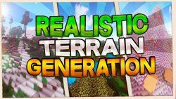 Realistic Terrain Generation Mod