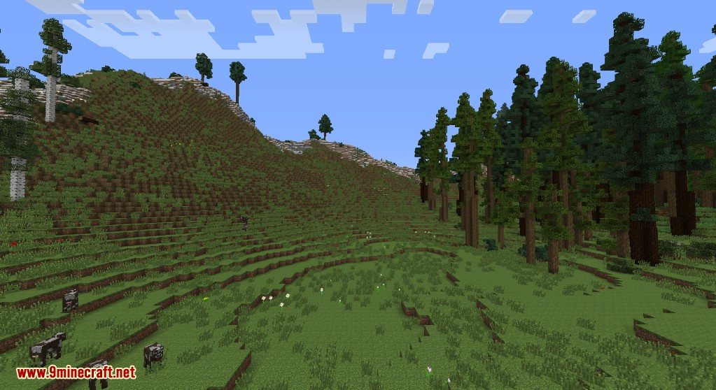 Realistic Terrain Generation Mod Screenshots 3