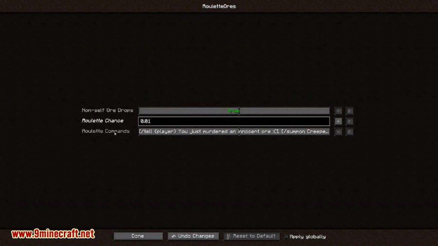 Roulette Ores Mod Screenshots 1