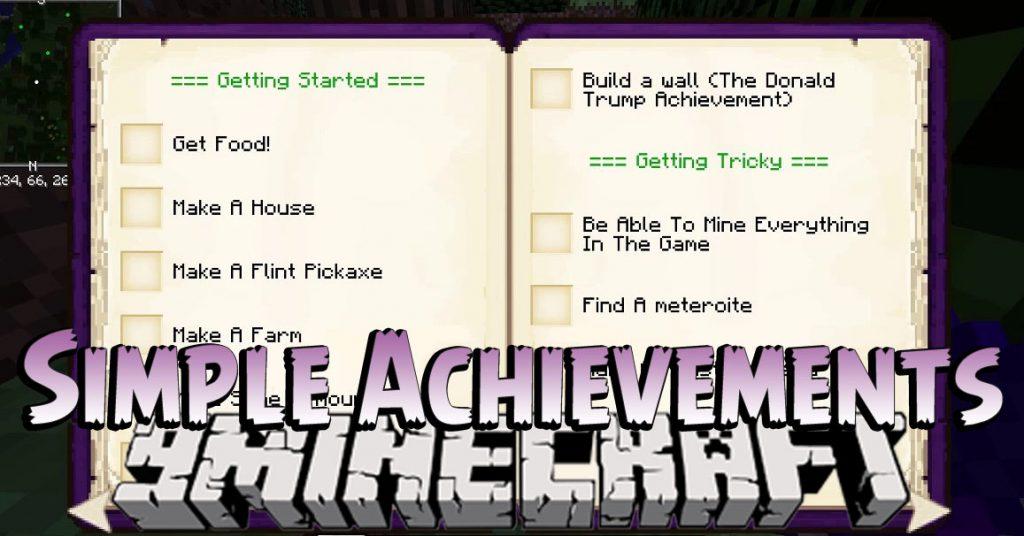 Simple Achievements Mod