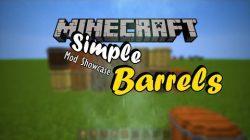 Simple Barrels Mod