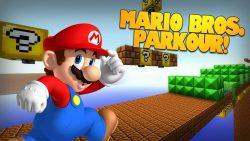 Super Mario Bros. Parkour Map Thumbnail