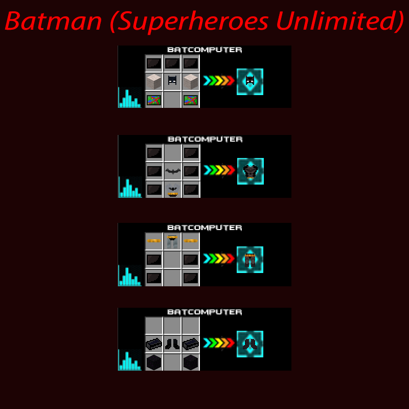SuperHeroes Unlimited Mod Crafting Recipes 44
