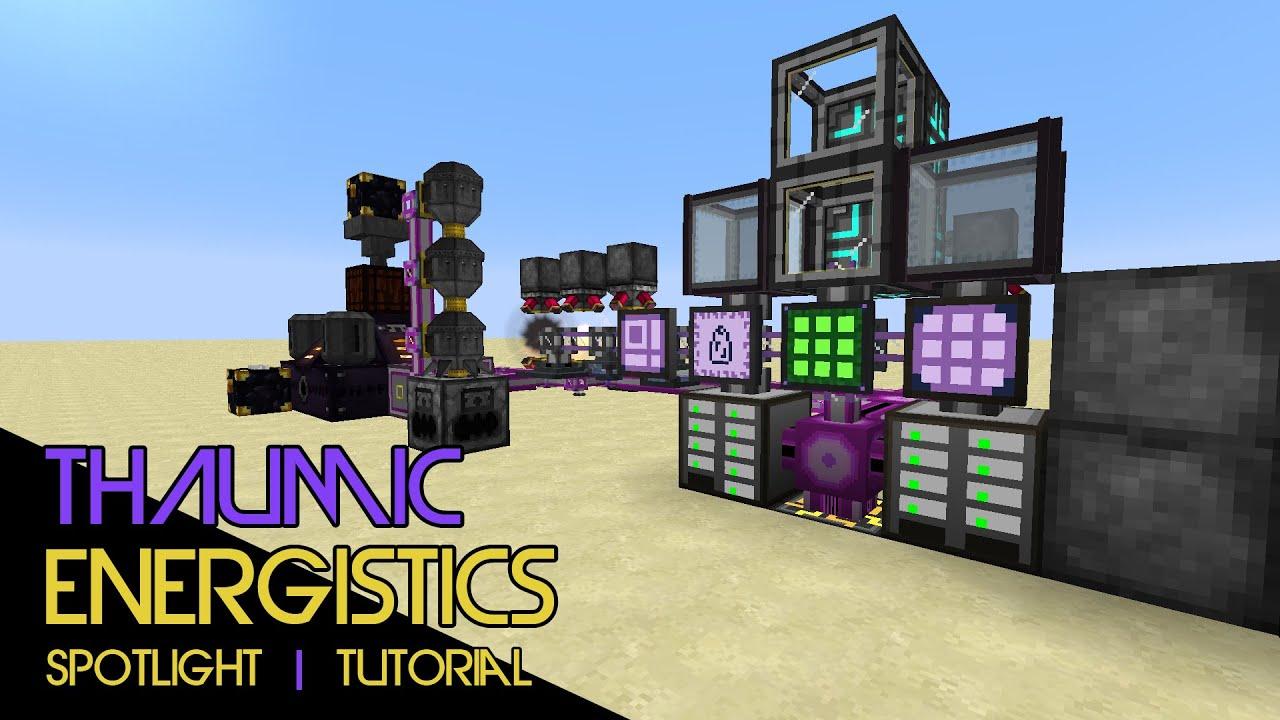 Thaumic Energistics Mod