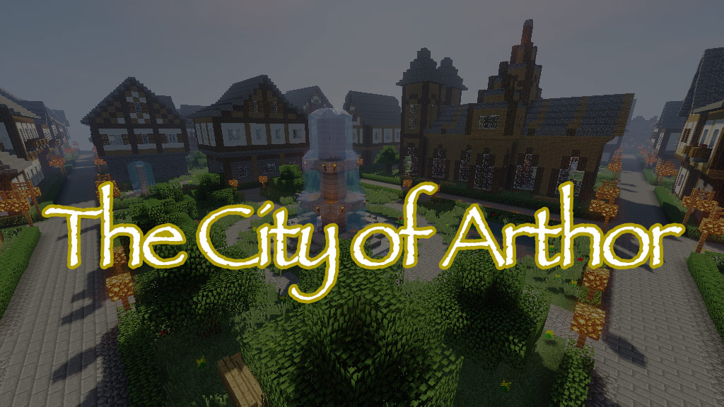 The City of Arthor Map Thumbnail