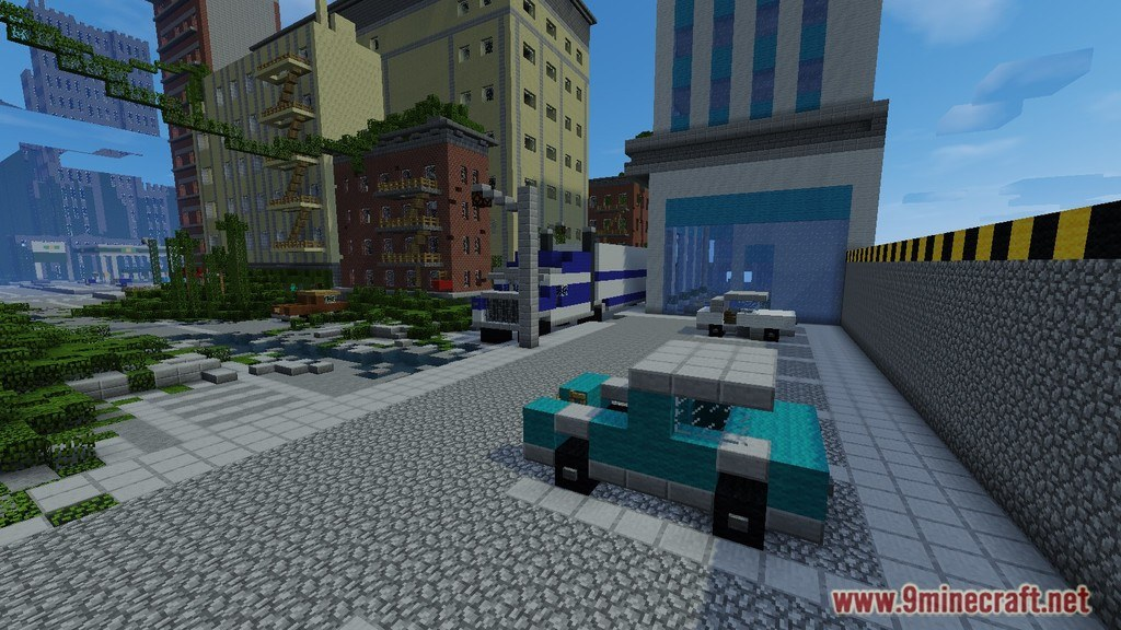 The Last Of Us Map 11221112 For Minecraft 9minecraftnet - Last-of-us-map-minecraft