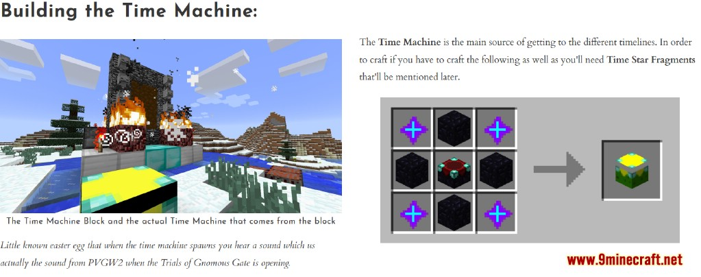 Time Machine Mod Features 11