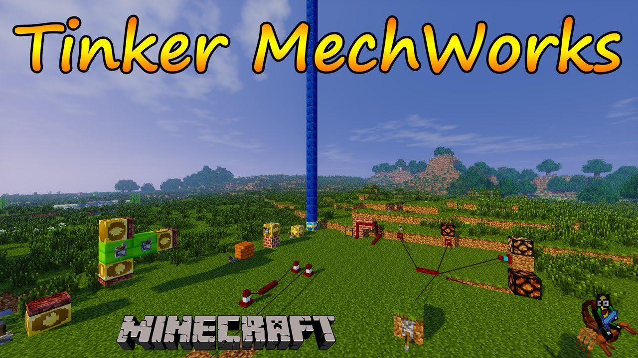 Tinkers Mechworks Mod Logo