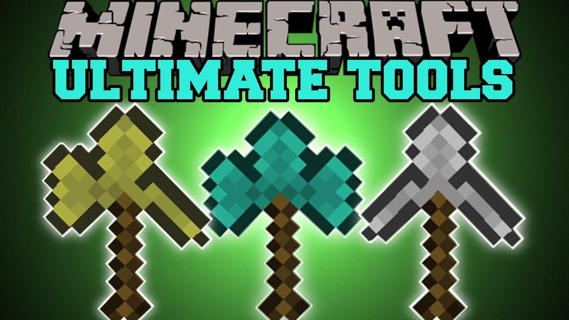 Tools Combine Mod 9.99.9/9.90.9 (Ultimate Tools) - 9Minecraft.Net