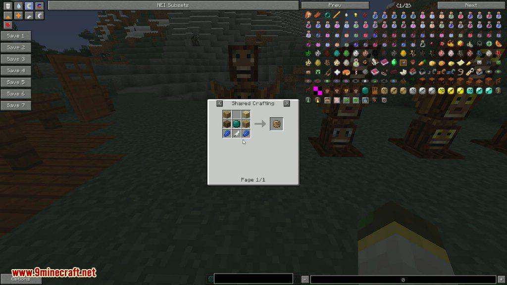 Totem Defender Mod Crafting Recipes 6