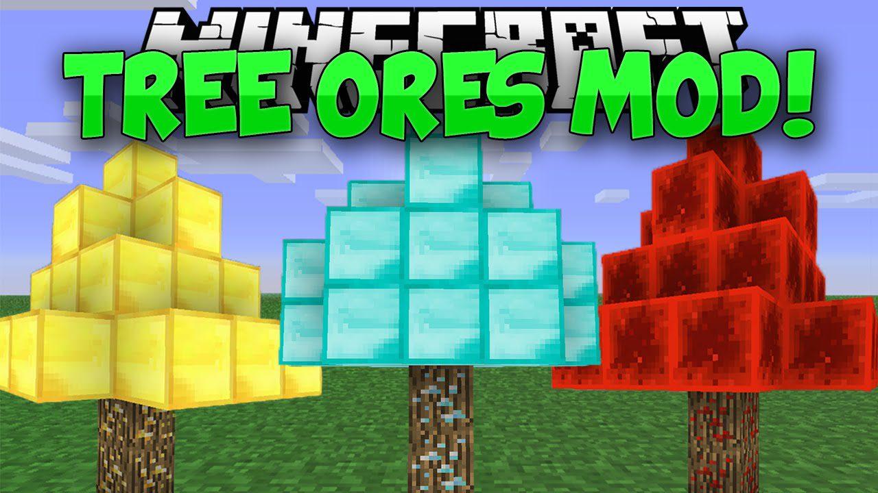 TreeOres Mod 1.11.2/1.10.2