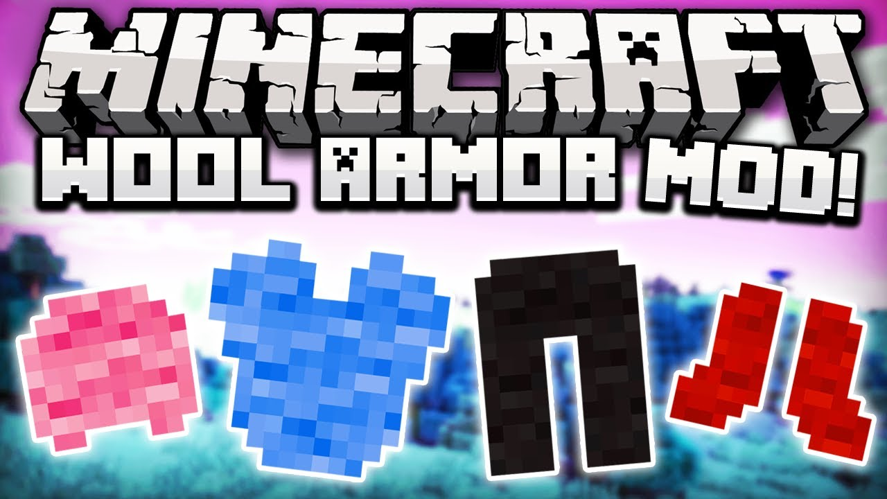 Wool Armor Mod