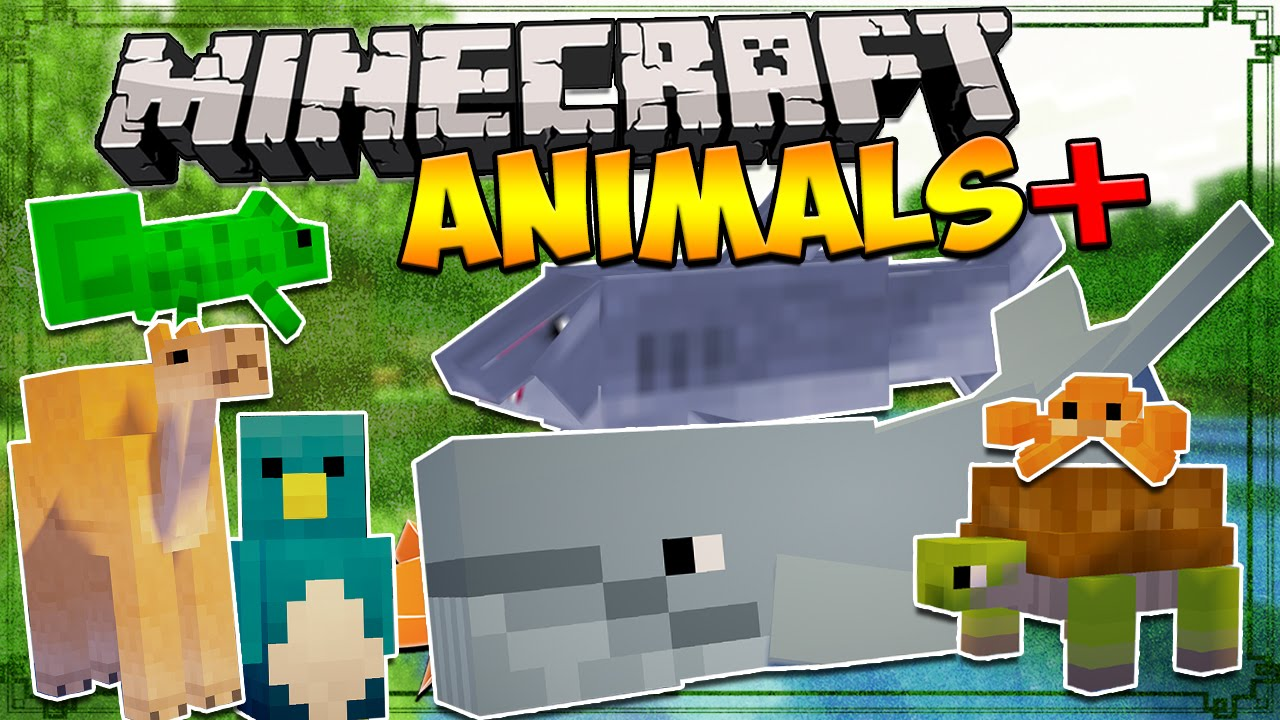 Animals Plus Mod 8.8.8/8.8.80 (More Nature, Extra Mobs