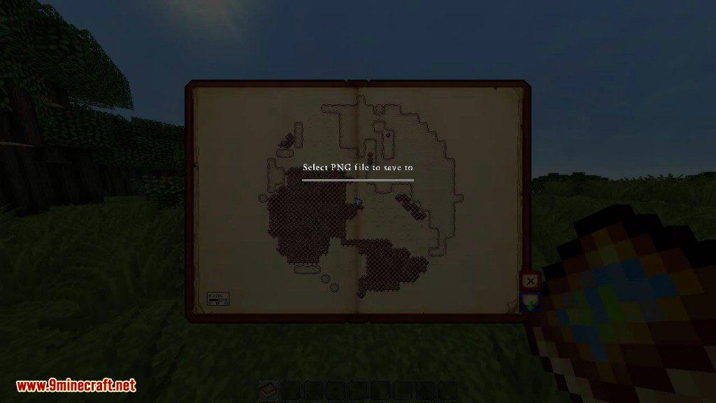 Antique Atlas Mod 1.12.2/1.11.2 (Fancy Interactive Map ...