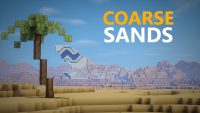 Coarse Sands Map for Minecraft Logo