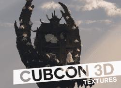 CubCon 3D Textures Pack Logo