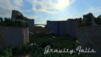 Gravity Falls Exploration Map