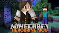 Herobrine Remake Mod