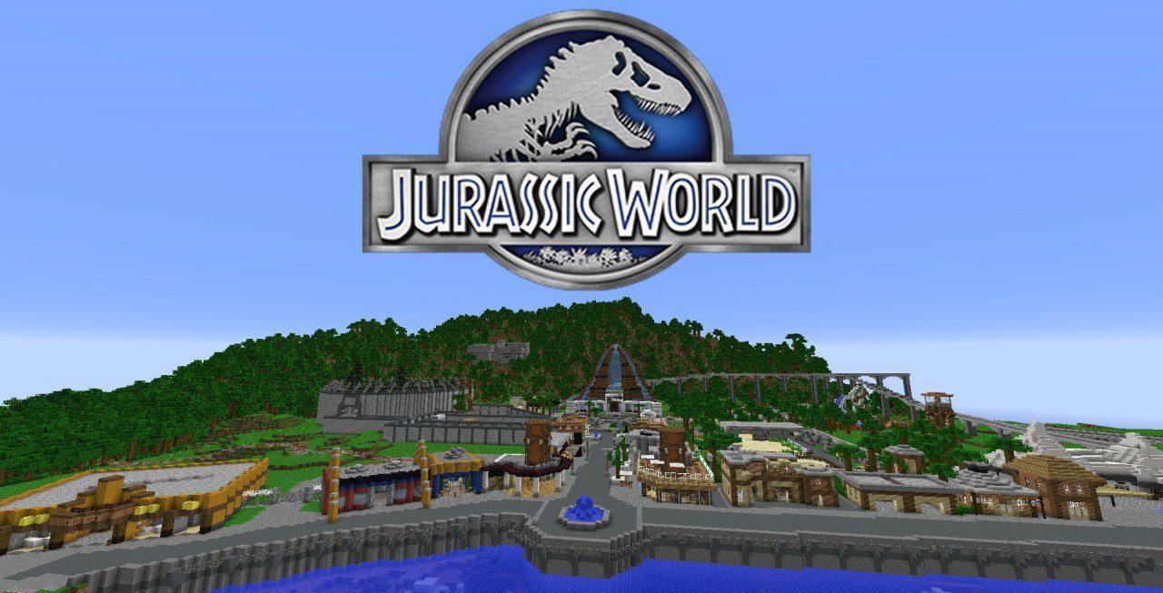 Jurassic World Map 1111.111111.1111/1111.11111.1111 for Minecraft - 11Minecraft.Net