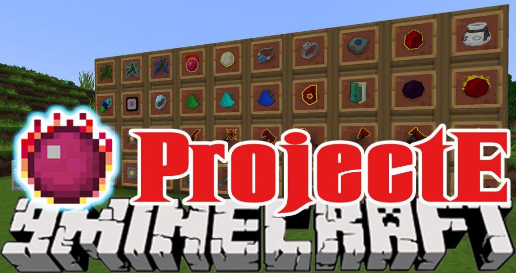 ProjectE Mod 1.10.2/1.7.10