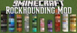 Rockhounding Mod