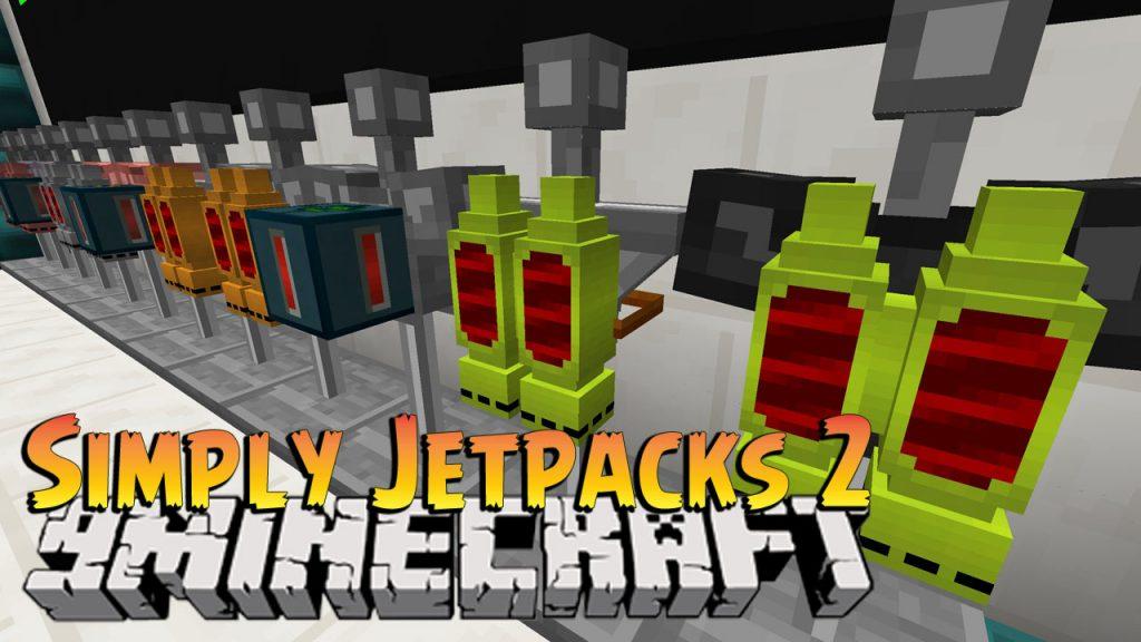 Simply Jetpacks 2 Mod 1.10.2