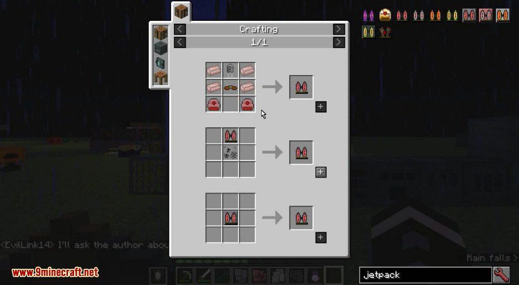 Simply Jetpacks 2 Mod Crafting Recipes 1