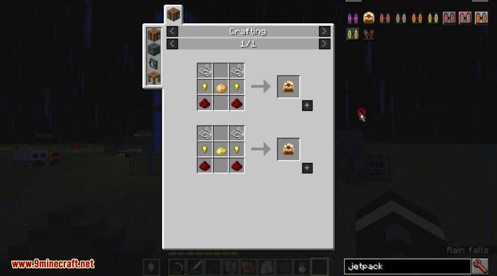 Simply Jetpacks 2 Mod Crafting Recipes 2