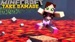 Take Some Damage Map for Minecraft Logo