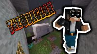 The Burglar Map for Minecraft Logo